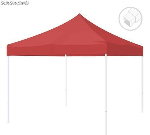 Carpa plegable para eventos y jardín - carpa 2x2 eco - rojo