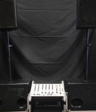 Equipo sonido master audio dj