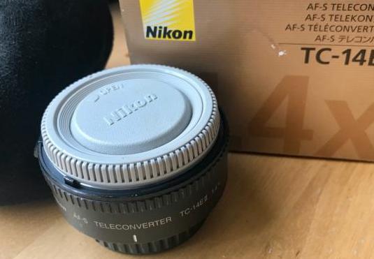 Nikon af-s teleconverter 1.4 ii