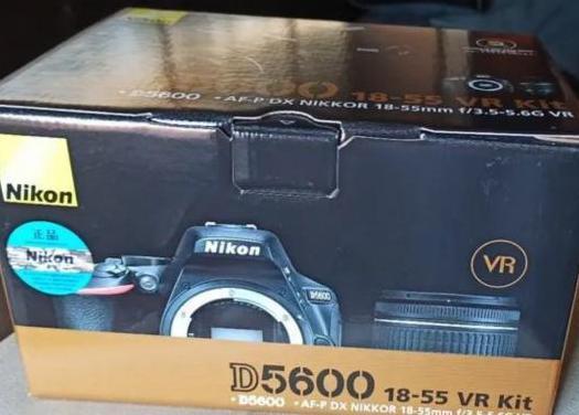 Nikon d5600 ad-p dx 18-55mm vr nueva