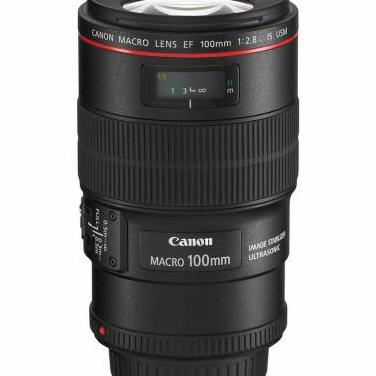 Objetivo canon ef 100 mm f2.8 l is usm macro