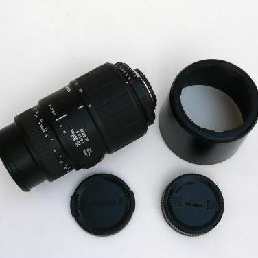 Objetivo tele sigma para nikon 70-300mm-macro