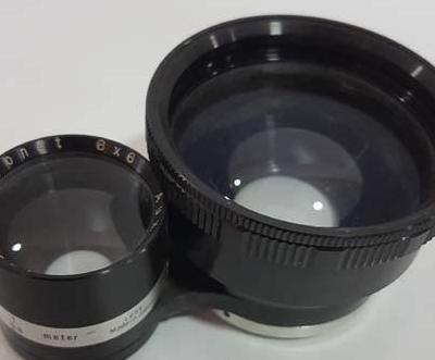 Objetivo para cámara de 6x6