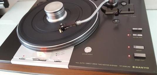 Sanyo tp-1030um plato tocadiscos vintage