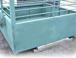 Venta de remolque suspendido para transporte de animales en