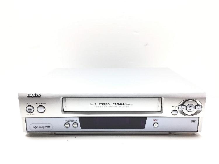 Reproductor video vhs sanyo vhr-h771