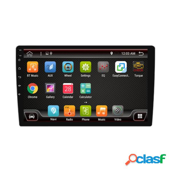 Px6 10.1 inch 1 din 4 + 64g para android 9.0 coche reproductor mp5 8 pantalla táctil central estéreo gps bluetooth rds f