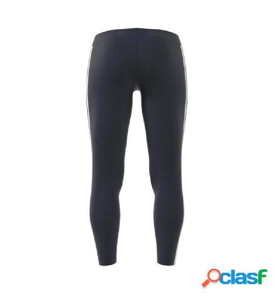 Mallas long fitness mujer adidas w e 3s tight m negro