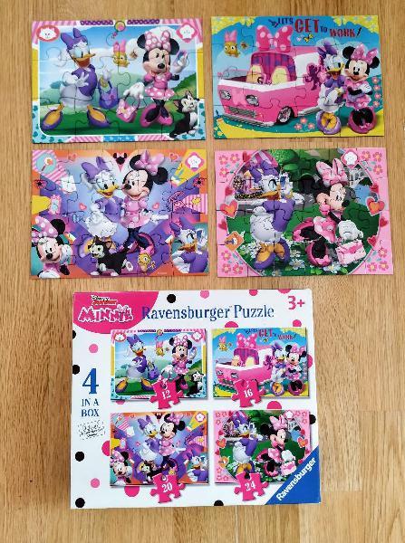 4 puzzles disney