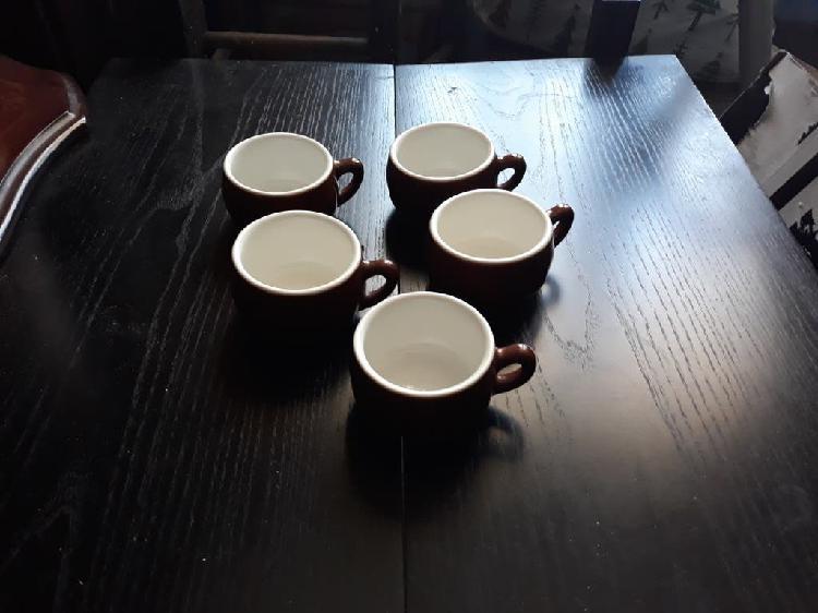 5 tazas de café