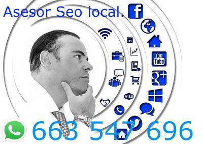 Asesor seo local. posicionamiento web. en sant andreu de la