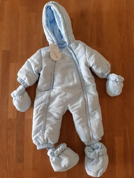 Buzo abrigo bebé dulces 1-3m