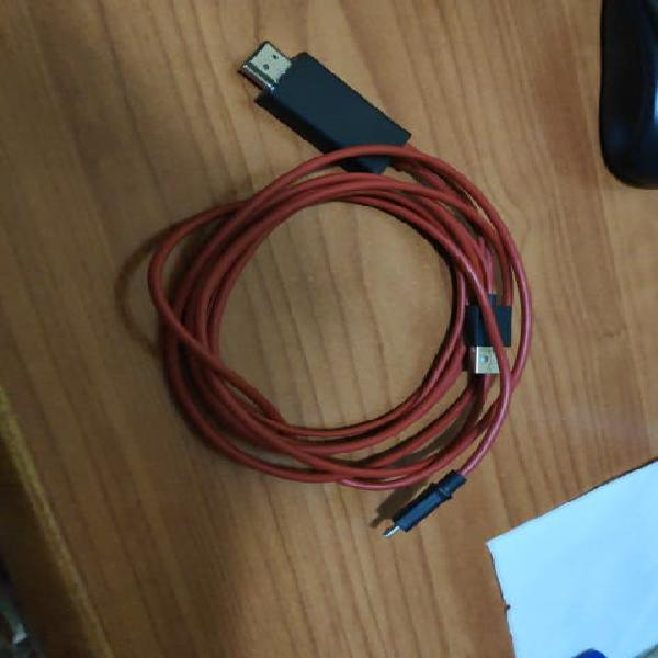 Cable MHL Micro USB a HDMI 2m