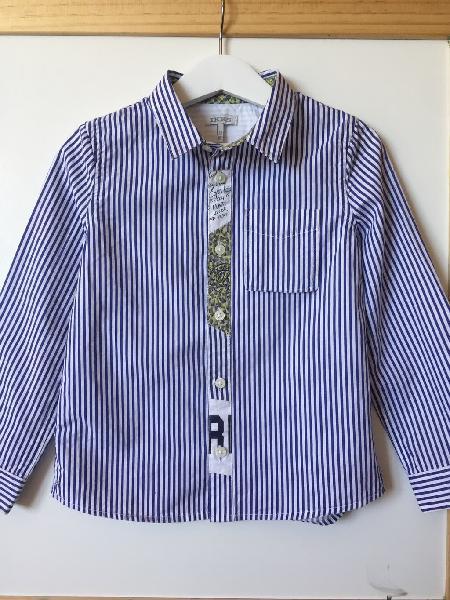 Camisa a rayas manga larga ikks