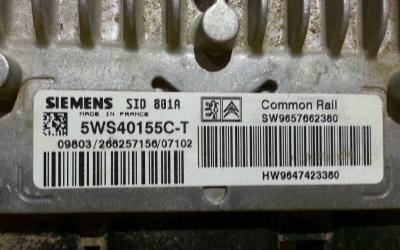 Centralita motor uce peugeot partner (s2) combi plus
