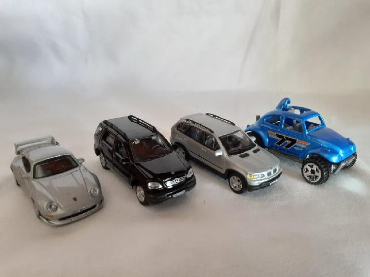 Coches . lote 4 coches . coches metal