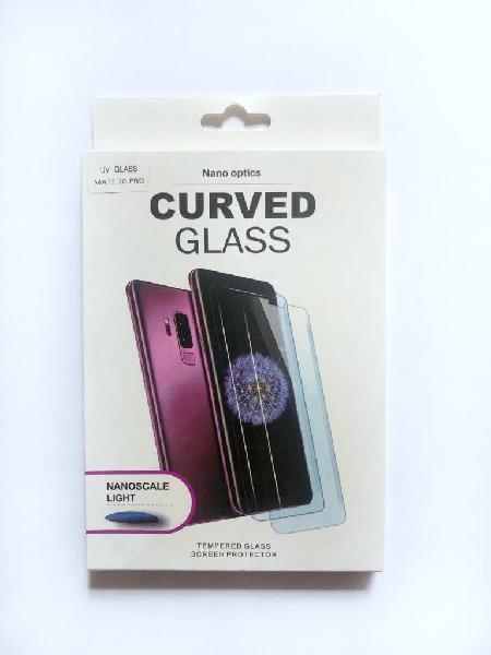 Cristal curvo 3 en 1 nano optic huawei mate 20 pro