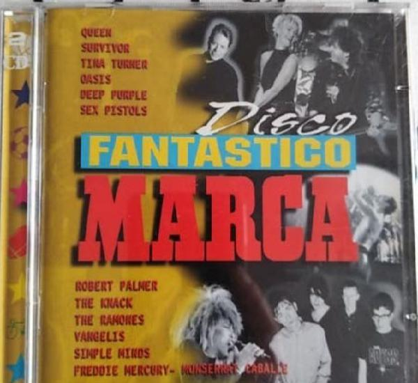 Doble cd disco fantástico marca.