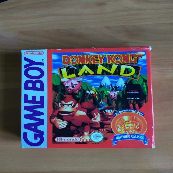 Donkey kong land para game boy