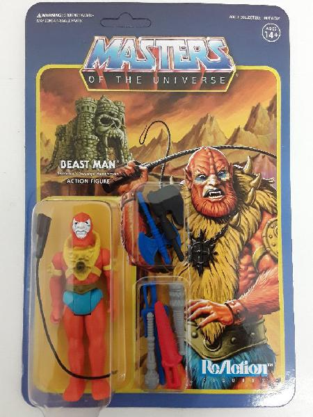 Figura beast man weapons pack leo color masters