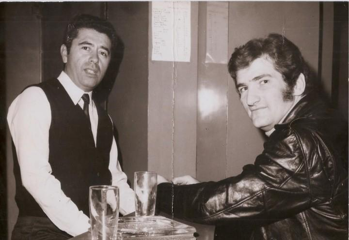 Fotografia años 60s -eddy miitchell & henri