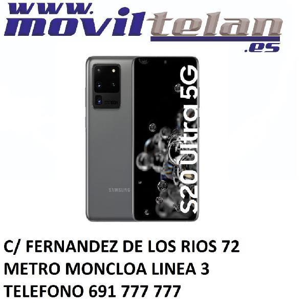Galaxy s20 ultra 5g 128gb gris poco uso garantia