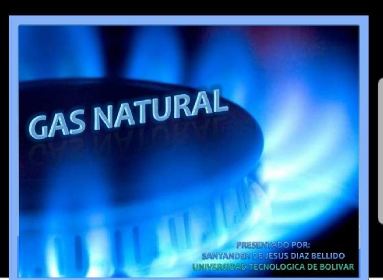 Gas natural comercio
