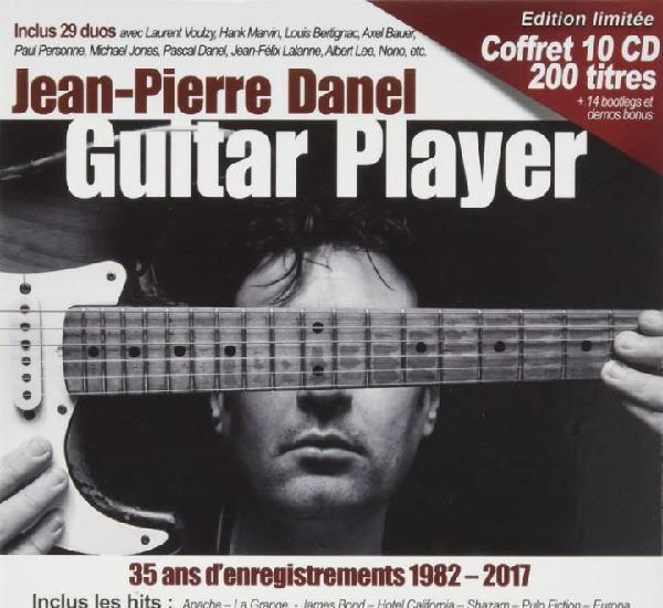 Jean pierre danel guitar player 10 cds (precintado)