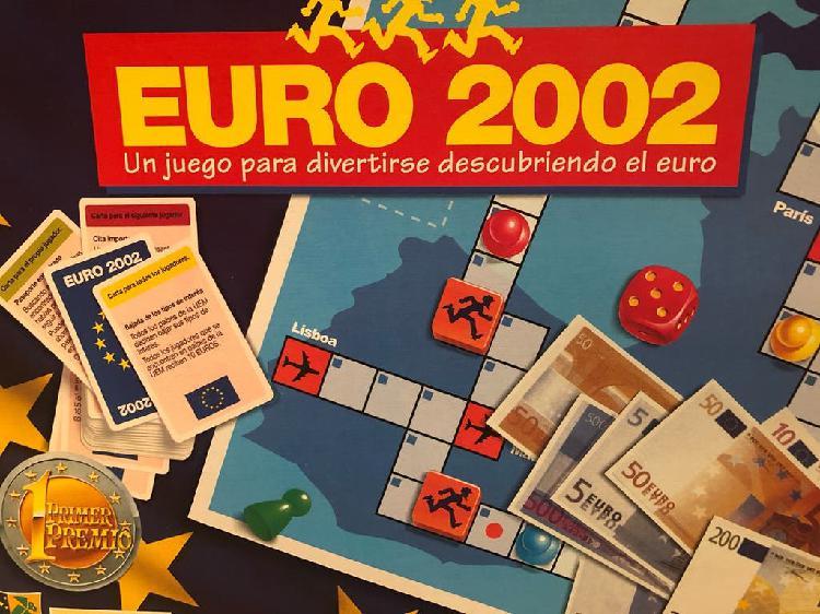 """Juego """"euro 2000"""""""