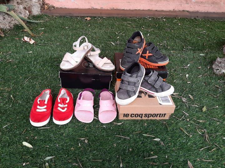 Lote zapatos niña t.26