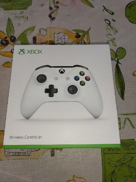 Microsoft xbox one gamepad inalámbrico blanco v2.0