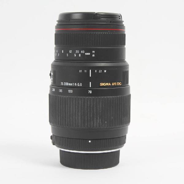 Objetivo sigma 70-300mm f/4-5.6 apo dg e339343