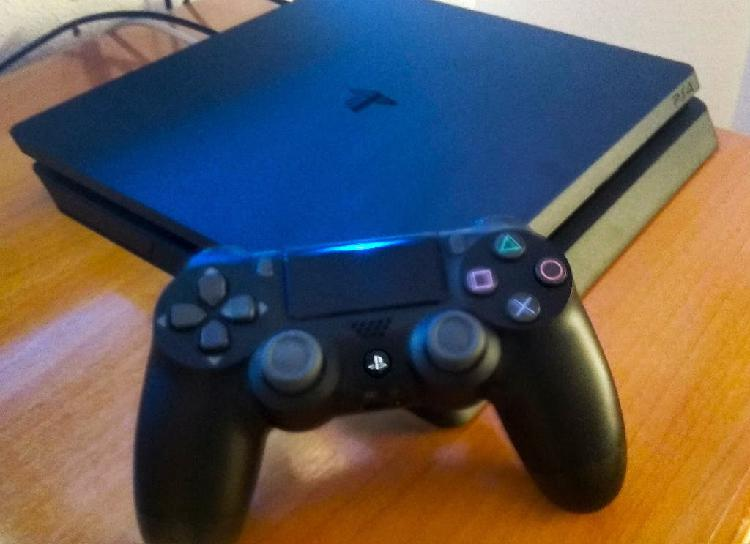 Ps4 slim 500gb + 51 juegos por xbox one x