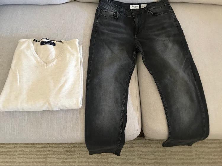 Pantalón hombre pull y jersey de regalo