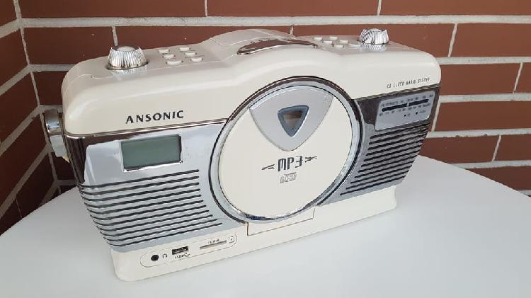 Rebajas!! - radio mp3 (usb y tarjeta)