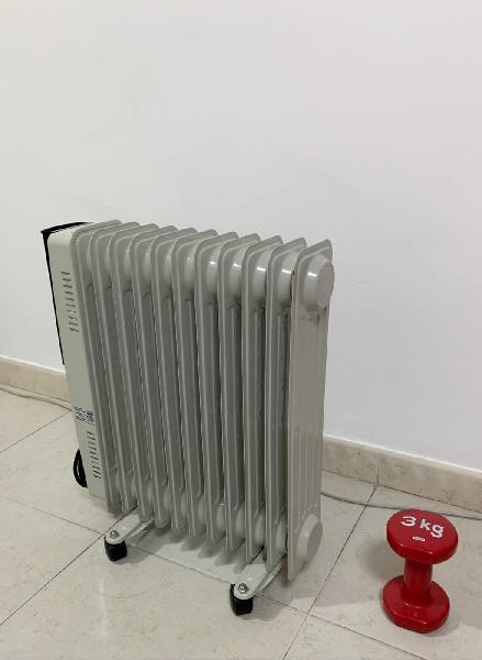 Radiador eléctrico de aceite, 2500w