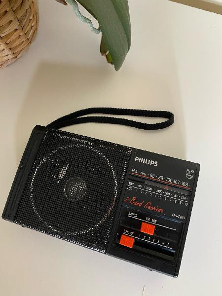 Radio transistor vintage am/fm philips