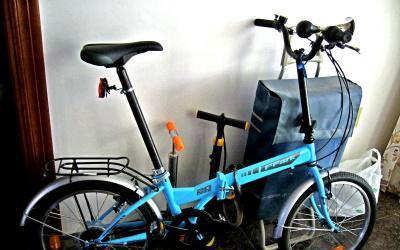 Vendo bicicleta plegable como nuevo