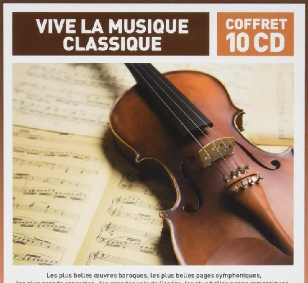 Vive la musique classique 10 cds (precintado)