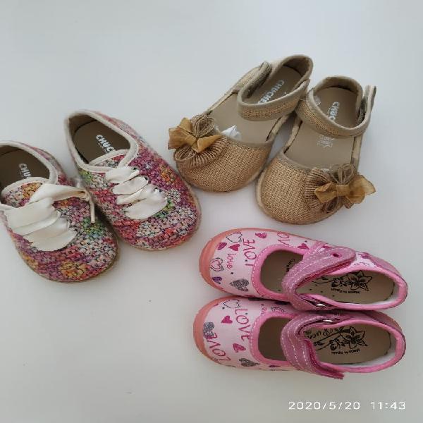 Zapatos niña talla 21 NUEVOS sin usar