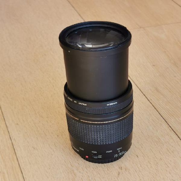 Zoom canon ef 75 - 300 mm 1:4-5.6 ii