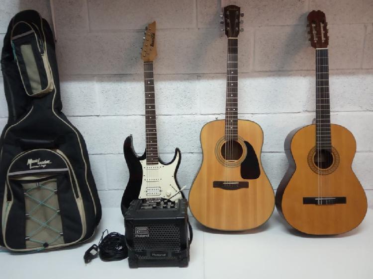 Lote guitarras