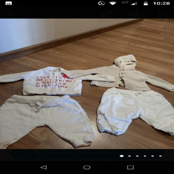 Lote ropa niña zara