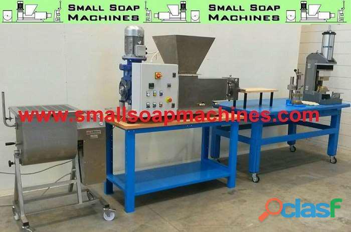 Máquinas para producir pastillas de jabón