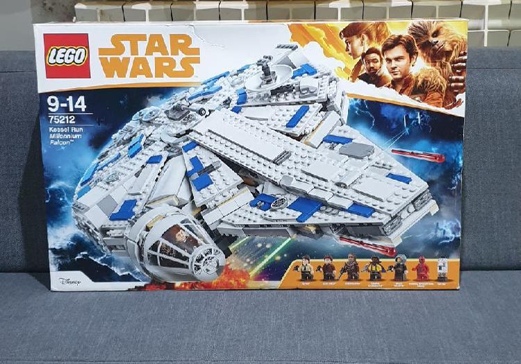 Nuevo precintado lego star wars 75212 halcón milen
