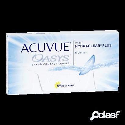 Acuvue oasys with hydraclear plus 12 lentes