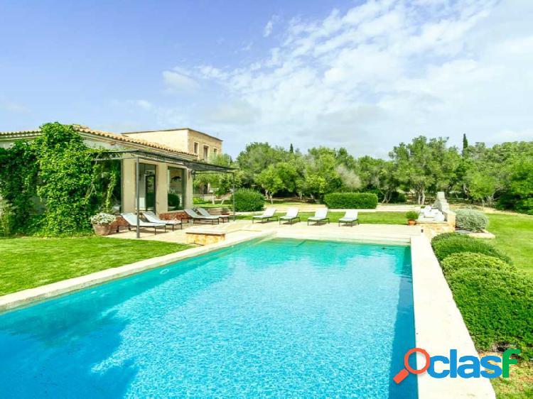 Elegante Mansion -Finca 5 Dormitorios cerca Playa de Es Trenc Licencia Touristica