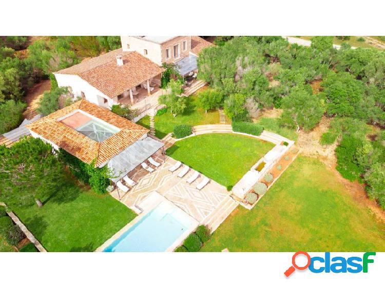 Elegante Mansion -Finca 5 Dormitorios cerca Playa de Es Trenc Licencia Touristica 1