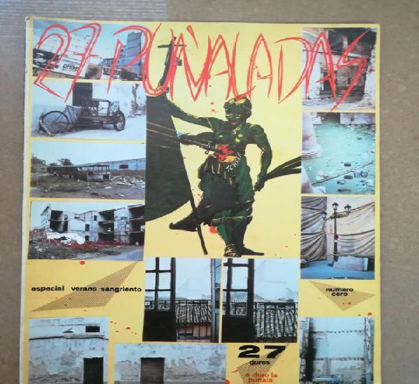 27 puñaladas nº 0 (fanzine sevillano 1984)