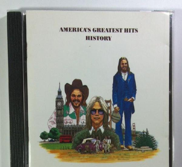 America - americas greatest hits history - cd aleman 1986 -